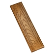2-Track Oak Stained Cribbage Board - Competition Cribbage Set - Solid Walnut Wood Sprint 2 Track Board with Metal Pegs
