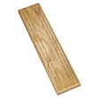 Competition Cribbage Set - Solid Oak Wood Sprint 2 Track Brd - Competition Cribbage Set - Solid Oak Wood Sprint 2 Track Board with Metal Pegs