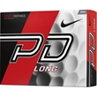 Nike (R) Power Distance Long Golf Ball Std Serv - Golf balls with penetrating ball flight and added role.