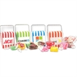Mini Take-Out Container with Salt Water Taffy - Mini Take-Out Container with Salt Water Taffy