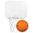 """Mini Backboard with Foam Basketball - Mini backboard with 4"""" foam basketball."""