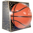 """Full Size Rubber Basketball - Full size rubber basketball, 29.5"""" features a re-inflatable athletic valve."""