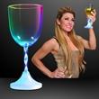 Light up flashing drinking glass