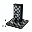 Magnetic Chess Set -Small Travel Size - Travel chess set with all pieces inside. Magnetized board for play on the go.