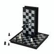 Magnetic Chess Set - Travel Size - Travel chess set with magnetized board. All playing pieces inside.