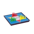 Magnetic Chinese Checkers -Small Travel Size - Magnetized, small travel size Chinese checkers set. All playing pieces inside.
