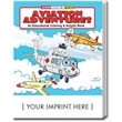 Aviation Adventures Coloring and Activity Book - Aviation Adventures coloring and activity book.
