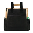 The Boston Tote Bag - 600D Polyester, Zipper Main Compartment, Side Pocket, Drop In Sleeve, Rectangle, Shoulder Strap, Tote, Boston