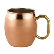 Classic Copper Moscow Mule Mug - 16oz - Copper Moscow Mule Mug - 16oz. Stainless steel mug with copper-plated exterior.