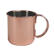 Artisan Copper Moscow Mule Mug - 16oz - Copper Moscow Mule Mug - 16oz. Stainless steel mug with copper-plated exterior.