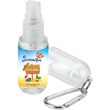 Bullet Hand Sanitizer Spray with Carabiner - Hand sanitizer spray with carabiner, 1 oz.
