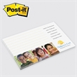 "Post-it(R) Custom Printed Notepad - Post-it Notes - 3"" x 5"", 50 sheets, 1 color - custom printed notepads."