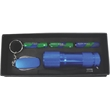 Flashlight Gift Set - Flashlight with matching five function aluminum key chain multi-tool.