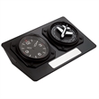 World Time Desk Clock - Aviator design world time desk analog clock with 24 world time zones.