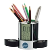 Clock/ Organizer with Mesh Pen Cup