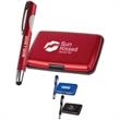 The Fairway - Identity theft protective case and stylus gift set.