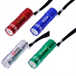 9 LED Lights with Aluminum Body Wrist Strap and Batteries