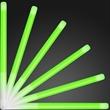 "9.4"" green glow stick wands"