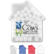 House Shaped Credit Card Mints
