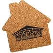 House Shaped Cork Coaster