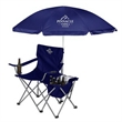 Party Chair - Quad party chair that features a 12-can cooler and beach umbrella.
