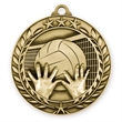 1 3/4'' VOLLEYBALL MEDAL (G)