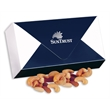 You've Got Mail with Deluxe Mixed Nuts - navy and white envelope box filled with deluxe mixed nuts