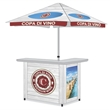 Custom Bar Display - Standard Package - Looking for a Unique Display that is More than a 10x10 Canopy? Our Portable Bar Display Inherently Invites People Over To Engage.