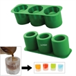 Silicone 3-in-1 ice cup