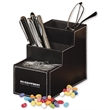 Faux Leather Desk Organizer with Jelly Belly Jelly Beans
