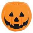 Inflatable Jack-O-Lantern Cooler - Inflatable jack-o-lantern cooler.
