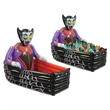 "Inflatable Vampire & Coffin Cooler - Inflatable vampire and coffin cooler, 3' 6"" x 30""."