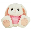 "10"" Hoppity Bunny with T-shirt and one color imprint - 10"" Hoppity Bunny with T-shirt and one color imprint"