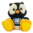 """10"""" Winks Owl with T-shirt and one color imprint"""