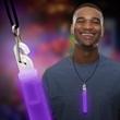 "Purple 6"" Premium Glow Light Stick"
