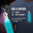 "Aqua 4"" Premium Glow Light Stick"