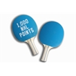 Ping Pong Paddles: Light Blue on Light Blue - All paddles come shipped in clam shells for protection.