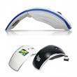 Foldable Wireless Optical Mouse - Ergonomic design foldable wireless mouse.