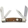Carver's Congress Whittler Pocket Knife - Folding pocket knife with rosewood handle and four blades.
