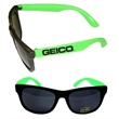 Stylish Fashion Sunglasses With UV Protection - Green E627 - Fashion sunglasses with ultraviolet protection.