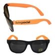Stylish Fashion Sunglasses With UV Protection - Orange E627 - Fashion sunglasses with ultraviolet protection.