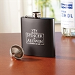 Black Flask Set