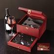 Rosewood Wine Glass Set