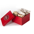 1 Dozen Cookies in Box w/ Direct Print - Gift box filled with one dozen (12) cookies; includes a direct print on lid.