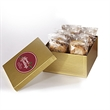 2 Dozen Cookies In Box w/ Direct Print - Gift box filled with two dozen (24) cookies; includes a direct print on lid.