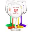 Clear 12.75 oz Libbey wine taster glass