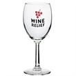 Clear 10 oz Napa country wine glass