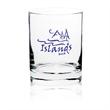 Clear 13.5 oz heavy base whiskey rocks glass