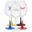 Clear Connoisseur white wine glass