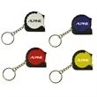 Mini tape measure key chain